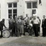 Otwarcie szkoły w Dzwoli, 1958 r.