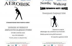Więcej o: Bezpłatne zajęcia – Aerobik oraz Nordic Walking