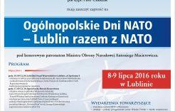 Więcej o: Lubelski piknik zokazji szczytu NATO