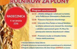 Więcej o: Międzygminne Święto Dziękczynienia Rolników za plony