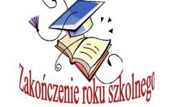 Więcej o: Z okazji kończącego się roku szkolnego i rozpoczynających się wakacji