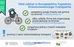 Więcej o: Weź udział w Europejskim Tygodniu Zrównoważonego Transportu