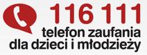Więcej o: TELEFON ZAUFANIA DLA DZIECI 116 111