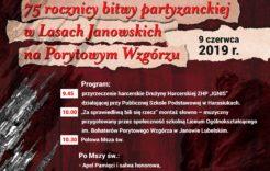 Więcej o: Uroczyste obchody 75 rocznicy bitwy partyzanckiej wLasach Janowskich 9.06.2019.
