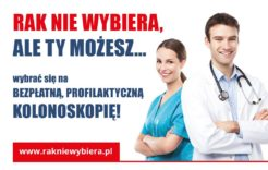 Więcej o: Zaproszenie nabezpłatne badania kolonoskopowe wkierunku wykrywania raka jelita grubego