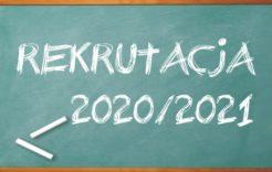 Więcej o: Rekrutacja doszkół iprzedszkoli wroku szkolnym 2020/2021