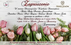 Więcej o: Zaproszenie naDzień Kobiet Stowarzyszenia Wspólnota Samorządowa
