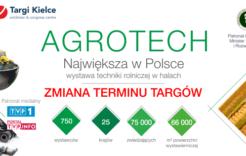 Więcej o: Zmiana terminu targów AGROTECH iLAS-EXPO