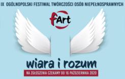 """Więcej o: IX Ogólnopolski Festiwal Twórczości Osób Niepełnosprawnych """"fART"""""""