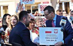Więcej o: Premier Mateusz Morawiecki odwiedził powiat janowski